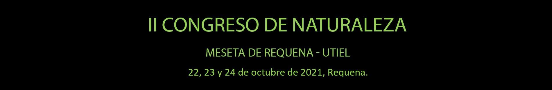 Congreso Naturaleza Requena-Utiel